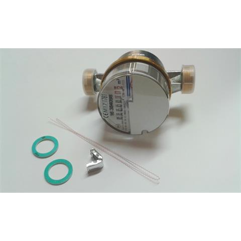"""2 Stück Wasserzähler 1/2"""" QN 1,5 m³ Kalt geeicht 30°C Nr. 23103"""
