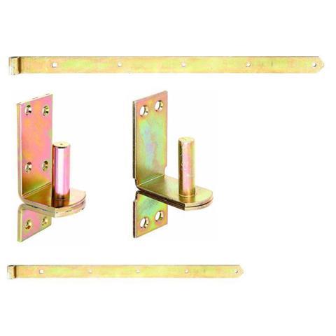 Ladenband 13mm Torband Türband mit Kloben / Haken als Set : 2 Kloben,2 Bänder
