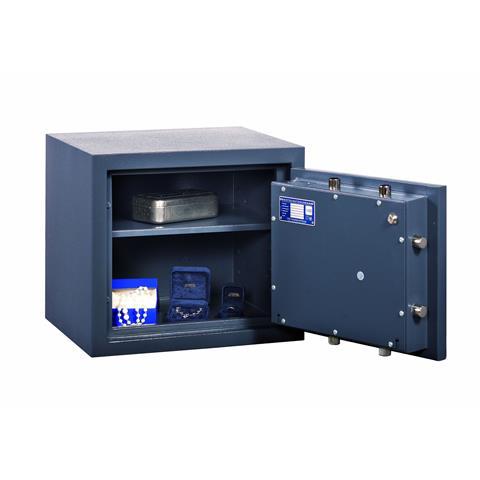 Format Wertschutzschrank Gemini Pro 1, Grad 1 mit mechanischem Zahlenschloß RAL7035