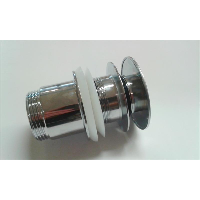 ablaufventil push open push open ventil schaftventil beckenventil chrom. Black Bedroom Furniture Sets. Home Design Ideas