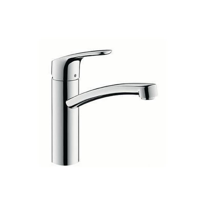 hansgrohe focus e k chenarmatur sp ltischmischer sp ltisch armatur 31806 chrom ebay. Black Bedroom Furniture Sets. Home Design Ideas