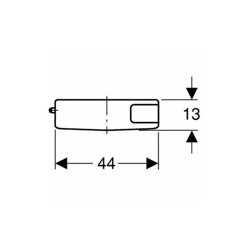 geberit sp lkasten wasserkasten aufputz ap 127000111 wei ebay. Black Bedroom Furniture Sets. Home Design Ideas