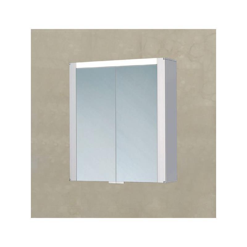 spiegelschrank led leuchte as palo spiegelschrank 63x69cm badschrank alustruktur led