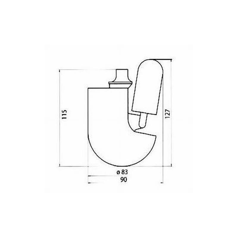 emco barolo wc b rstenkopf mit randreiniger nr 221513990. Black Bedroom Furniture Sets. Home Design Ideas