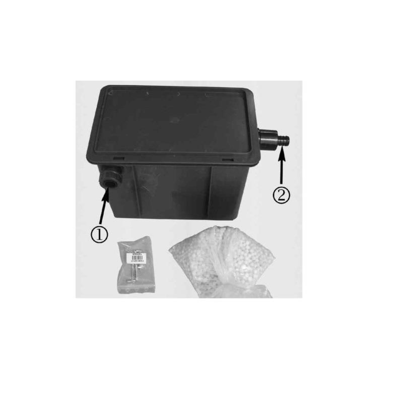 kondensatbox atec kondensat neutralisation brennwert inkl f llung 601129 ebay. Black Bedroom Furniture Sets. Home Design Ideas