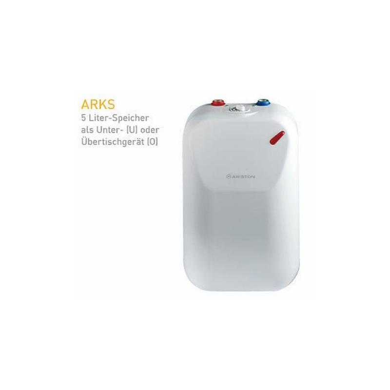 ariston warmwasserspeicher boiler arks 5u untertischboiler 5 liter neu ebay. Black Bedroom Furniture Sets. Home Design Ideas