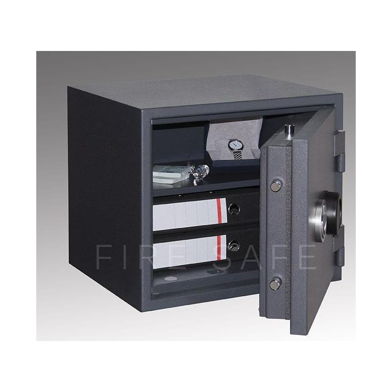 tresor safe feuerschutztresor fire safe stufe s2 lfs 30 p 450x505x450mm 77kg ebay. Black Bedroom Furniture Sets. Home Design Ideas