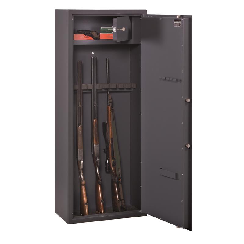 waffenschrank b burg w chter waffenschrank ranger w 7 a b von obi ansehen waffenschrank gun. Black Bedroom Furniture Sets. Home Design Ideas