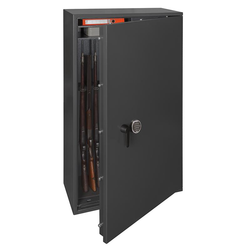 waffenschrank gun safe 1 1 8c mit elektronischem zahlenschloss regalteil ebay. Black Bedroom Furniture Sets. Home Design Ideas