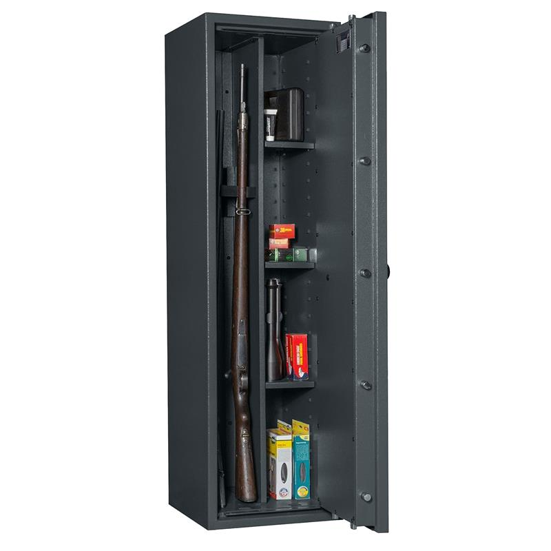 waffenschrank gun safe 1 1 3c mit regalteil grad i mit elektr zahlenschloss oder db schloss. Black Bedroom Furniture Sets. Home Design Ideas