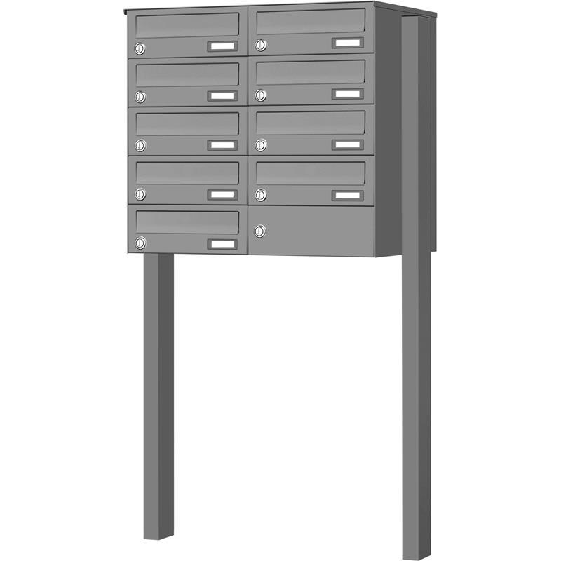 briefkastenanlage max knobloch freistehend bis 12 parteien. Black Bedroom Furniture Sets. Home Design Ideas