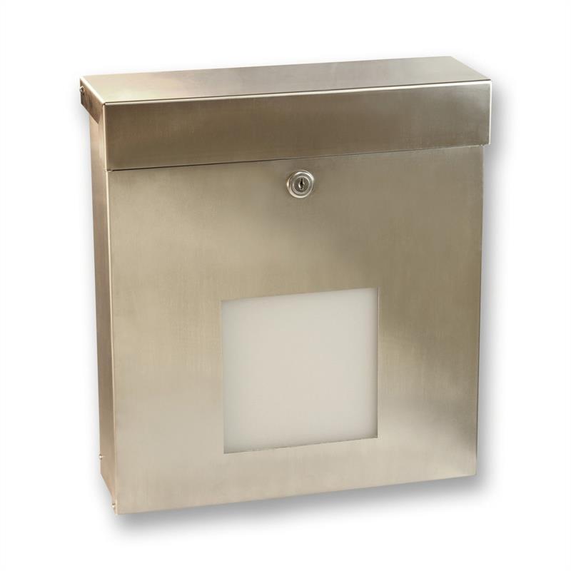 edelstahl briefkasten knobloch mailbox x sondermodell. Black Bedroom Furniture Sets. Home Design Ideas