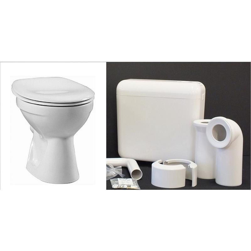 vitra norm standtiefsp l wc tiefsp ler mit sp lkasten und sitz ebay. Black Bedroom Furniture Sets. Home Design Ideas