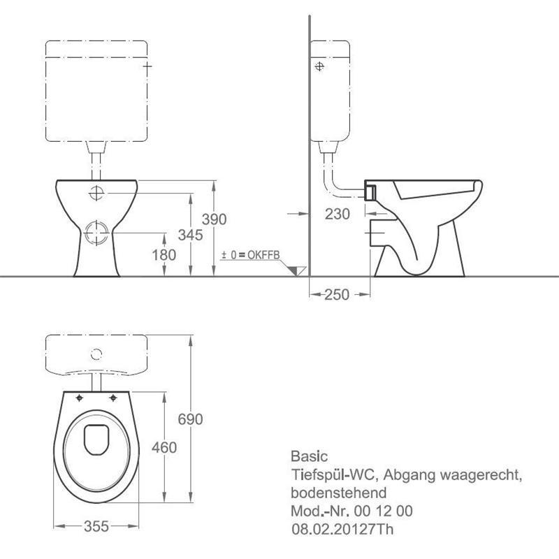 keramag allia paris standtiefsp l wc tiefsp ler mit sp lkasten und sitz stand ebay. Black Bedroom Furniture Sets. Home Design Ideas