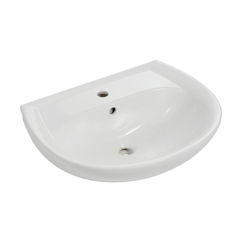 keramag renova nr 1 nr 1 waschtisch waschbecken 60cm oder 65cm wei ebay. Black Bedroom Furniture Sets. Home Design Ideas