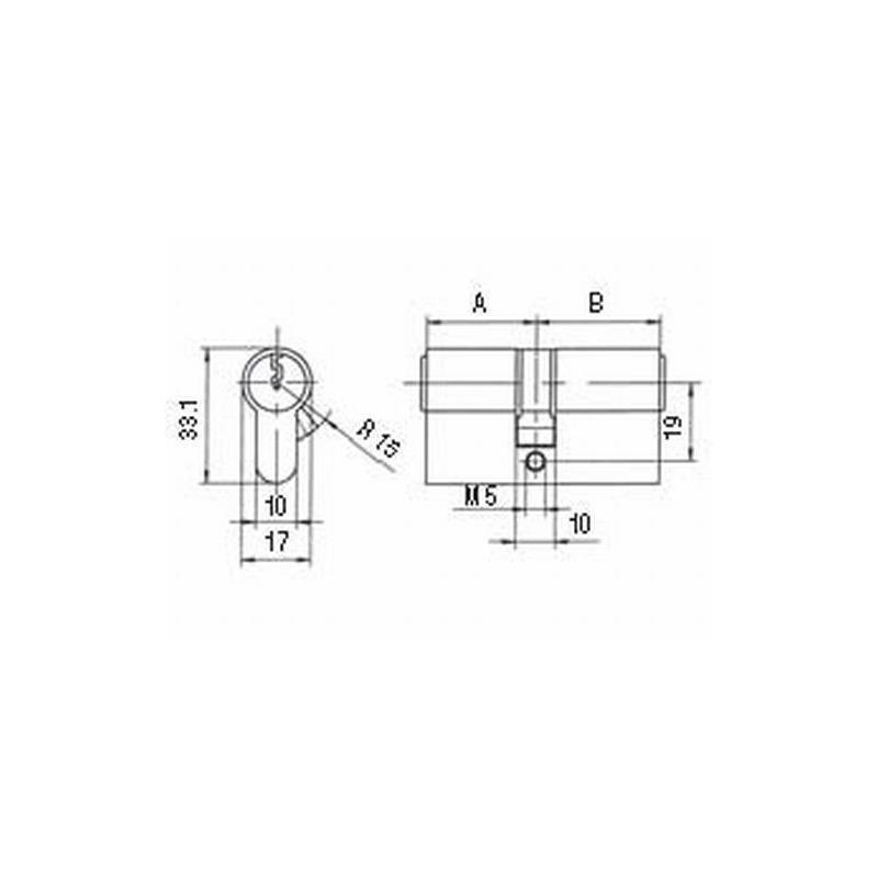 Profilzylinder BKS PZ 88 Schließzylinder Schließanlage auch gleichschließend 4